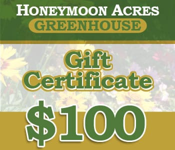 Honeymoon Acres Gift Certificate - $100