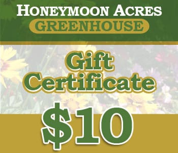 Honeymoon Acres Gift Certificate - $10